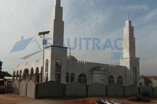 Construction d'une mosquée