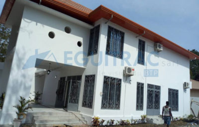 Construction d'une villa R+1 et Annexes