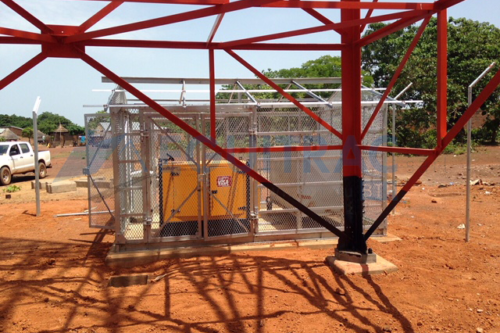 Construction Site GSM au compte MTN-Areeba