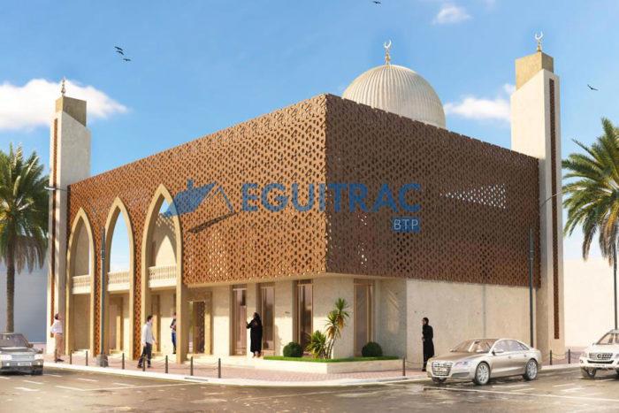 Projet de construction d'une mosquée